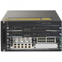 Cisco - 7604-RSP7C-10G-P - Cisco 7604 Router Chassis - 4 Slots - 5U - Rack-mountable