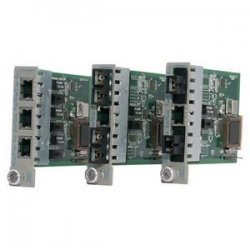 Omnitron - 8421-1 - Omnitron Systems iConverter Tx/2Fx Redundant Fast Ethernet Media Converter - 1 x RJ-45 , 2 x ST - 100Base-TX, 100Base-FX