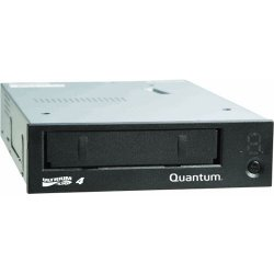 Quantum - TC-L42BN-EZ-B - Quantum TC-L42BN-EZ-B LTO Ultrium 4 Tape Drive - LTO-4 - 800 GB (Native)/1.60 TB (Compressed) - Black - SAS1/2H Height - 120 MB/s Native - 240 MB/s Compressed - Linear Serpentine