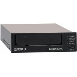 Quantum - TC-L32AN-EY-B - Quantum TC-L32AN-EY-B LTO Ultrium 3 Tape Drive - LTO-3 - 400 GB (Native)/800 GB (Compressed) - Black - SAS1/2H Height - Internal - 68 MB/s Native - 136 MB/s Compressed - Linear Serpentine