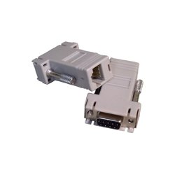 Comtrol - 1200047 - Comtrol 1200047 DB-9 to RJ45 Adapter - 4 Pack - Gray