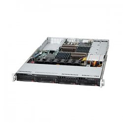 Supermicro - SYS-6016T-6RFT+ - Supermicro SuperServer 6016T-6RFT+ Barebone System - 1U Rack-mountable - Intel 5520 Chipset - Socket B LGA-1366 - 2 x Processor Support - Black - 192 GB DDR3 SDRAM DDR3-1333/PC3-10600 Maximum RAM Support - Serial ATA/300,