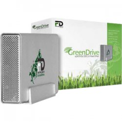 MicroNet - GD2000EU32 - Fantom GreenDrive GD2000EU32 2 TB External Hard Drive - eSATA, USB 2.0 - 32 MB Buffer