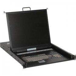"iStarUSA - WL-21908 - iStarUSA WL-21908 Dual Rail Rackmount LCD - 8 Computer(s) - 19"" LCD - SXGA - 1280 x 1024 - Keyboard - TouchPad"