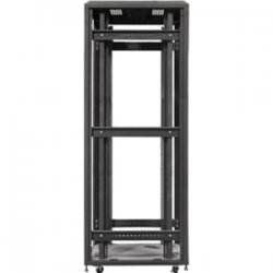 iStarUSA - WX-428 - iStarUSA WX-428 4-Post Open Rack Frame - 42U Wide - Black - 2200 lb x Maximum Weight Capacity