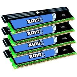 Corsair - CMX8GX3M2A1333C9 - Corsair XMS CMX8GX3M2A1333C9 8GB DDR3 SDRAM Memory Module - 8 GB (2 x 4 GB) - DDR3 SDRAM - 1333 MHz DDR3-1333/PC3-10666 - Non-ECC - Unbuffered - 240-pin - DIMM