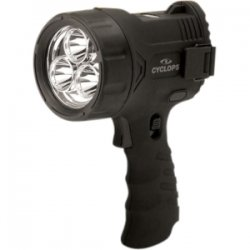 Cyclops - CYC-3WS - Cyclops Flare Sport Hand Held Spotlight - 1 W - AA - Black