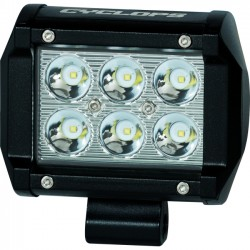 GSM Outdoors - CYC-LBDR18-BM - Cyclops Car Decorative Light - 4 - 6 LED - White - Durable