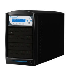 Vinotemp - SDSHARK-15T-BK - 1:15 Sdshark Tower Standalone Sd Microsd Card Flash Duplicator
