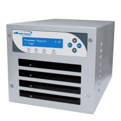 Vinotemp - SLIMMICRO-DVD-S4T - Vinpower Digital SLIMMICRO-DVD-S4T CD/DVD Duplicator - Standalone - DVD-Writer - 8x DVD+R, 8x DVD-R, 4x DVD+R, 4x DVD-R, 24x CD-R - 6x DVD-R/RW, 8x DVD+R/RW, 24x CD-RW