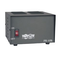 Tripp Lite - PR10 - Tripp Lite DC Power Supply 10A 120VAC to 13.8VDC AC to DC Conversion TAA GSA