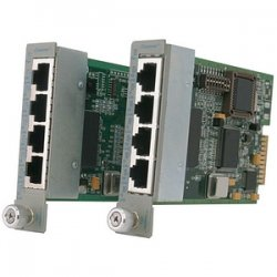 Omnitron - 8480-4 - Omnitron Systems iConverter 4Tx 10/100 Managed Ethernet Switch module - 4 x 10/100Base-TX