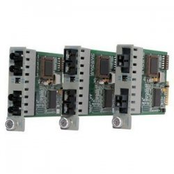 Omnitron - 8440-0 - Omnitron Systems iConverter 2Fx Managed Fast Ethernet Media Converter - 2 x ST Duplex - 100Base-FX