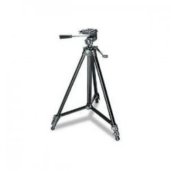 "Sony - VCT-R640 - Sony VCT-R640 Tripod - 21.62"" to 56.75"" Height - 6.61 lb Load Capacity - Black"