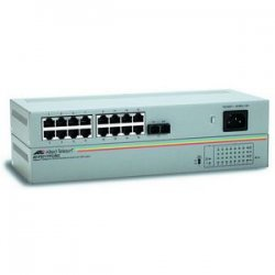 Allied Telesis - AT-FS717FC/SC-10 - Allied Telesis AT-FS717FC/SC Ethernet Switch - 16 x 10/100Base-TX, 1 x 100Base-FX