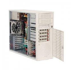 Supermicro - SYS-5033C-T - Supermicro SuperWorkstation 5033C-T Barebone System - Intel 875P - Pentium 4 (Extreme Edition), Celeron - 4GB Memory Support - Gigabit Ethernet, Gigabit Ethernet - Mid-tower