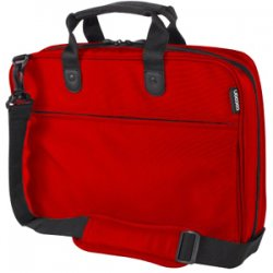 "Cocoon Innovations - CPS380RD - Cocoon CPS380RD Carrying Case (Portfolio) for 16"" Notebook - Racing Red - Twill - 12"" Height x 3.1"" Width x 16.3"" Depth"