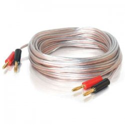 C2G (Cables To Go) - 40531 - C2G 250ft 18 AWG Bulk Speaker Wire - Bare Wire - Bare Wire - 250ft - Clear