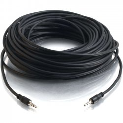 C2G (Cables To Go) - 40106 - C2G 15ft CMG-Rated 3.5mm Stereo Audio Cable With Low Profile Connectors - 15 ft - Mini-phone Male Stereo Audio - Mini-phone Male Stereo Audio