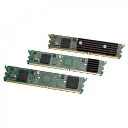 Cisco - PVDM3-256= - Cisco 256-Channel High-Density Packet Voice and Video Digital Signal Processor Module - Voice DSP module - DIMM 240-pin - for Cisco 2901, 2911, 2921, 2951, 3925, 3925E, 3945, 3945E