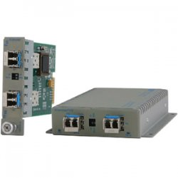 Omnitron - 8699-0-D - Omnitron Systems iConverter 8699-0-D SFP to SFP Managed Protocol-Transparent Fiber Converter - 2 x Expansion Slots - 2 x SFP Slots - Wall Mountable