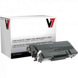 V7 - TBK2N650 - V7 Black High Yield Toner Cartridge for Brother - Laser - High Yield - 8000 Page