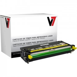 V7 - TDY23115 - V7 Yellow High Yield Toner Cartridge for Dell 3110cn - Laser - High Yield - 1400 Pages