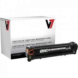 V7 - THK21215 - Black Toner Cartridge, Black For HP Color LaserJet CP1210, CP1215, CP1215N, C