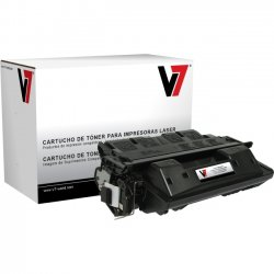 V7 - THK28061X - V7 Black Ultra High Yield Toner Cartridge for HP - Laser - Ultra High Yield - 15000 Pages
