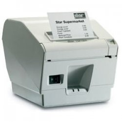 "Star Micronics - 39442511 - Star Micronics TSP743IIU-24GRY Direct Thermal Printer - Monochrome - Wall Mount - Receipt Print - 9.84 in/s Mono - 406 x 203 dpi - USB - 3.25"" Label Width"