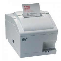 Star Micronics - 37999360 - Star Micronics SP700 SP712MC Receipt Printer - Monochrome - 4.7 lps Mono - Parallel