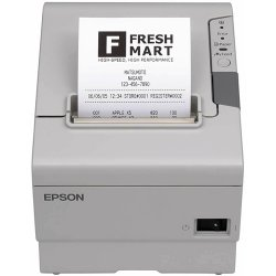"Epson - C31CA85014 - Epson TM-T88V Direct Thermal Printer - Monochrome - Desktop - Receipt Print - 2.83"" Print Width - 11.81 in/s Mono - 4 KB - USB - Serial - Plain Paper, Direct Thermal Paper, Receipt - 3.27"" Roll Diameter - 3.15"" Label Width"