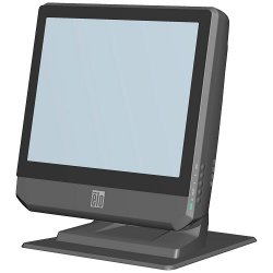 ELO Digital Office - E923025 - 17b3 Touchcomputer - 17-inch Lcd, Accutouch (resistive), Usb