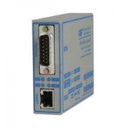 Omnitron - 4321-1 - Omnitron Systems FlexPoint 4321-1 AUI to 10BASE-T Transceiver - 1 x Network (RJ-45) - 10Base-T - Wall Mountable, External, Rack-mountable, Rail-mountable
