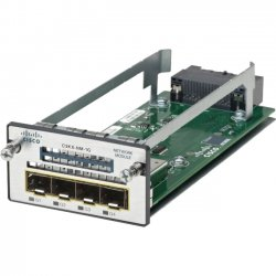 Cisco - C3KX-NM-10G= - Cisco-IMSourcing C3KX-NM-10G Network Module - For Data Networking, Optical Network10 Gigabit Ethernet - 10GBase-X4 x Expansion Slots - SFP+, SFP