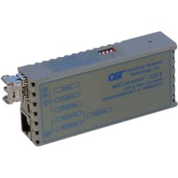 Omnitron - 1223-2-1-W - miConverter 10/100/1000 Gigabit Ethernet Fiber Media Converter RJ45 SC Single-Mode 34km Wide Temp - 1 x 10/100/1000BASE-T; 1 x 1000BASE-LX; US AC Powered; Lifetime Warranty