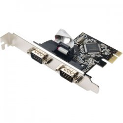 SYBA Multimedia - SD-PEX15022 - SYBA Multimedia SD-PEX15022 2-port PCI Express Serial Adapter - PCI Express x1