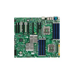 Supermicro - MBD-X8DTG-QF-O - Supermicro X8DTG-QF Server Motherboard - Intel 5520 Chipset - Socket B LGA-1366 - Retail Pack - 2 x Processor Support - 192 GB DDR3 SDRAM Maximum RAM - 1.33 GHz Memory Speed Supported - 12 x Memory Slots - Serial ATA/300 RAID