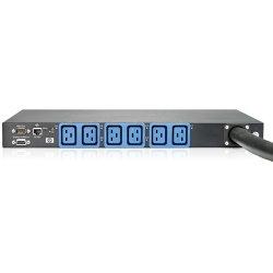 Hewlett Packard (HP) - AF531A - HP 26-Outlet Power Distribution Unit - 20 x IEC 60320 C13, 6 x IEC 60320 C19 - 4.99 kVA - 1U - Rack-mountable, Rack-mountable