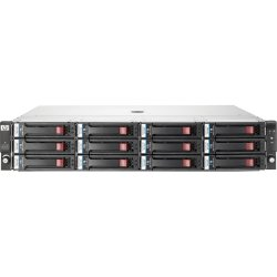 Hewlett Packard (HP) - BK782A - HP StorageWorks D2600 - 6 x HDD Installed - 12 TB Installed HDD Capacity - 12 x Total Bays - Serial Attached SCSI (SAS) - 2U Rack-mountable