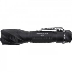 Sog Specialty Knives & Tools - DE-05 - SOG DarkEnergy 550A - Bulb - CR123A - Anodized Aluminum - Black
