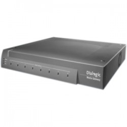 Dialogic - 884-214 - Dialogic DMG1008LSW Media Gateway - 1 x RJ-45 - 8 x FXO - Management Port - Fast Ethernet