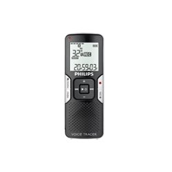 Nuance Communications - 39-9083-10070 - Nuance Philips Voice Tracer 662 2GB Digital Voice Recorder - 2 GB Flash Memory - LCD - Portable