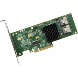 LSI Logic - LSI00244 - LSI Logic 9201-16i 16-port SAS Controller - Serial ATA/600 - PCI Express 2.0 x8 - Plug-in Card - 4 Total SAS Port(s) - 4 SAS Port(s) Internal