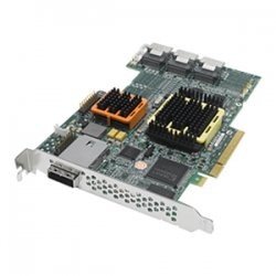 Adaptec - 2268100-R - Microsemi 51245 16-port SAS RAID Controller - Serial ATA/300 - PCI Express x8 - Plug-in Card - RAID Supported - 0, 1, 1E, 5, 5EE, 6, 10, 50, 60 RAID Level - 4 Total SAS Port(s) - 3 SAS Port(s) Internal - 1 SAS Port(s) External