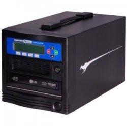 Kanguru - BR-DUPE-S1 - Kanguru 1 Target, Blu-ray Duplicator with Internal Hard Drive - Standalone - Blu-ray Writer - 8x BD-R, 16x DVD R, 16x DVD-R, 52x CD-R, 4x DVD R, 12x DVD-R - 8x BD-RE, 8x DVD R/RW, 8x DVD-R/RW, 24x CD-RW - USB, TAA Compliant