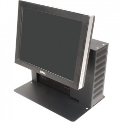"Rack Solution - 114-1160 - Rack Solutions 114-1160 Computer Stand - 18"" Height x 15"" Width x 10"" Depth - Black"