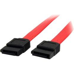StarTech - SATA6 - StarTech.com 6in SATA Serial ATA Cable - Male SATA - Male SATA - 6 - Red