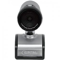 Micro Innovations - 4310200 - Digital Innovations ChatCam 4310200 Webcam - 1.3 Megapixel - 30 fps - USB 2.0 - 1280 x 1024 Video