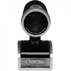 Micro Innovations - 4310300 - Digital Innovations ChatCam 4310300 Webcam - 30 fps - USB 2.0 - 1280 x 720 Video